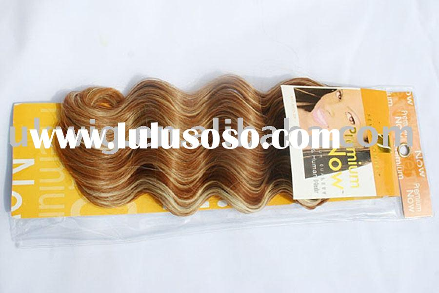body wave hair weave / human hair extension/ weft hair
