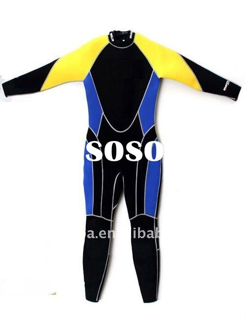 colourful Neoprene Wetsuit ,overall Diving Suit ,DL-2617