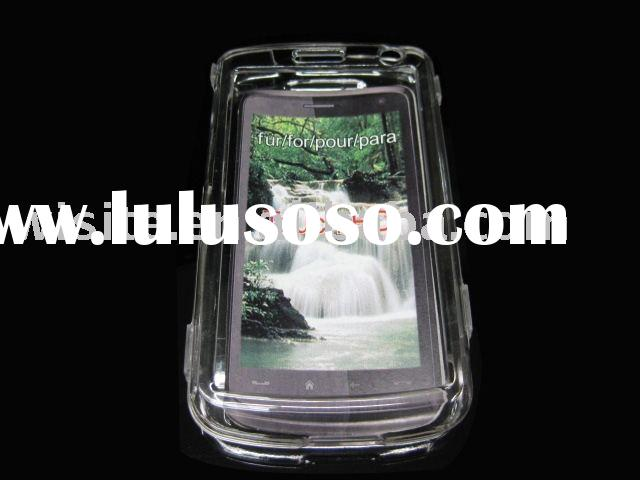 crystal case for HTC touch HD/mobile phone crystal case/cell phone crystal case/protector case