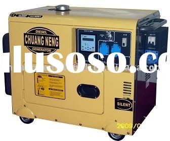 diesel generator set (Silent with ATS, Digital control panel and Arc-casing design)