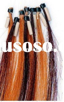easy-loop/loop-ring human hair extension/wig/hairdressing/headwear
