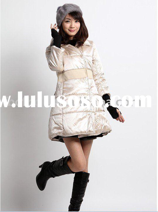 fashion trends 2011 winter lady down jacket(F005)
