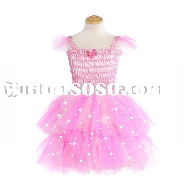 flower fancy fairy dress princess costumes