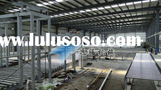 gypsum board production line machinery