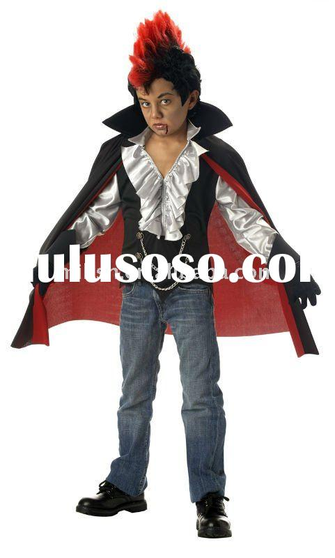 halloween children vampire fancy dress costumes for kids MAC-0406