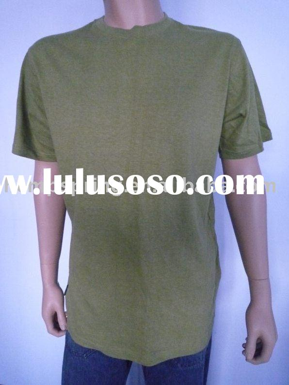 hemp/organic cotton men t-shirts