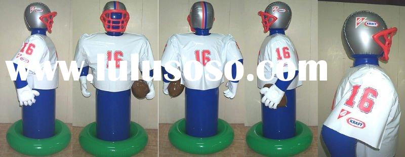 inflatable football player inflatable advertising items inflatable promotional items inflatable toy