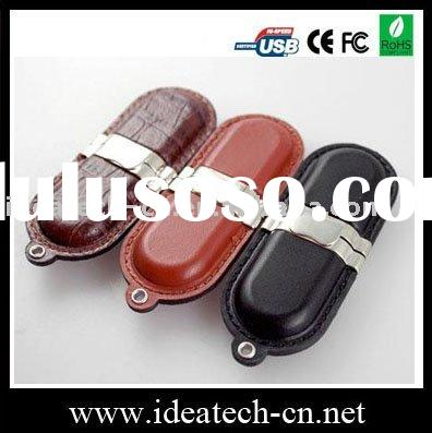 keychain usb flash drive,cheap leather usb stick 1-64gb