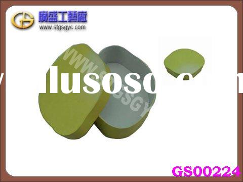 nice round cardboard gift box with lid GS00224
