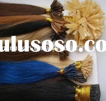 pre-boned extension/nail-tip human hair/hair products/hair extension