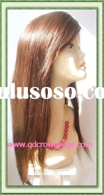 stock human hair lace front wigs