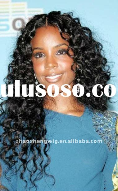 stock wig African american women human hair frontal lace wigs