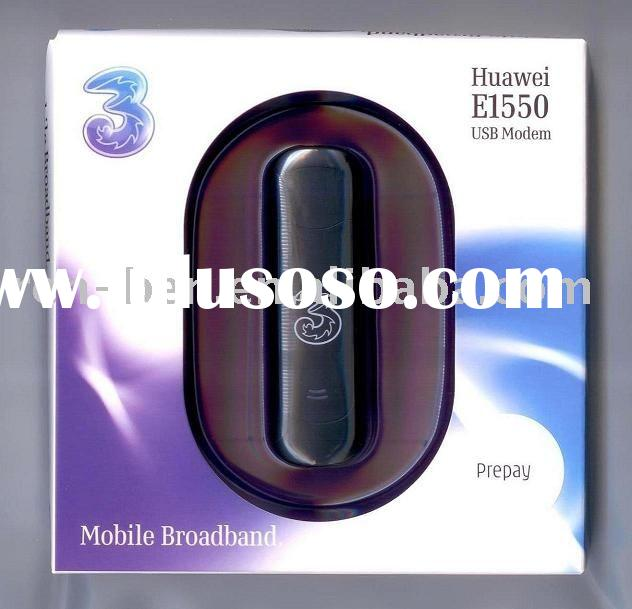 unlocked Huawei E1550 HSDPA USB 3G wireless modem / 3.6Mbps with Micro SD memory card slot