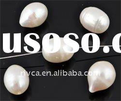 white round freshwater pearl beads/ classic jewelry accessory/pearl beads 8mm