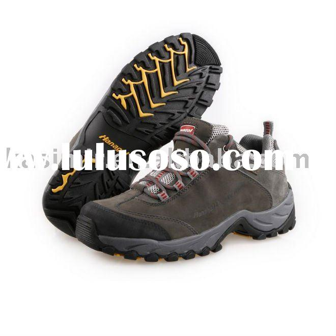 women's genuine leather waterproof hiking shoes walking shoes