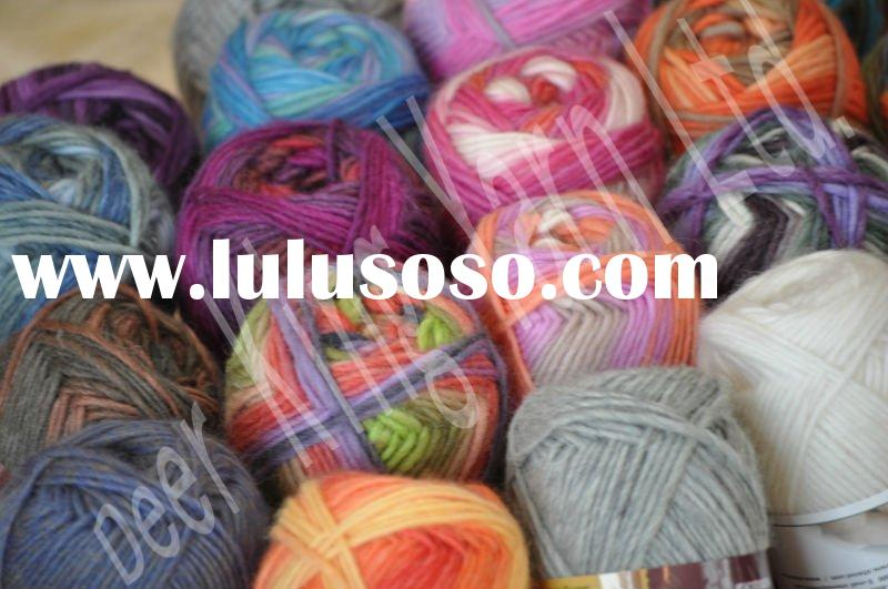 women's wool yarn for hand knitting,sweater yarn