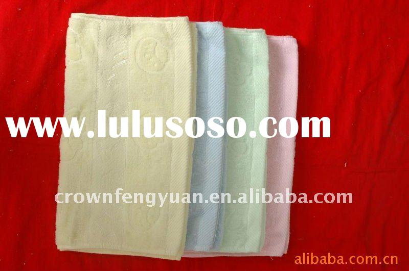 100% cotton jacquard towels wholesale price and high quality