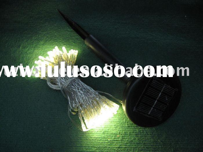 100 led solar string light, christmas decoration lamp