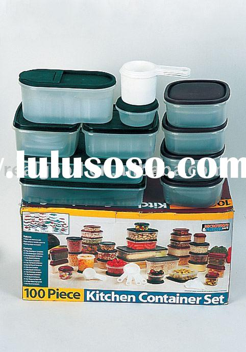 100pcs Food Storage, Food Container, Plastic Container, Model:11893