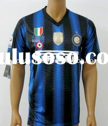 11-12season top quality soccer jersey inter milan home Accept paypal
