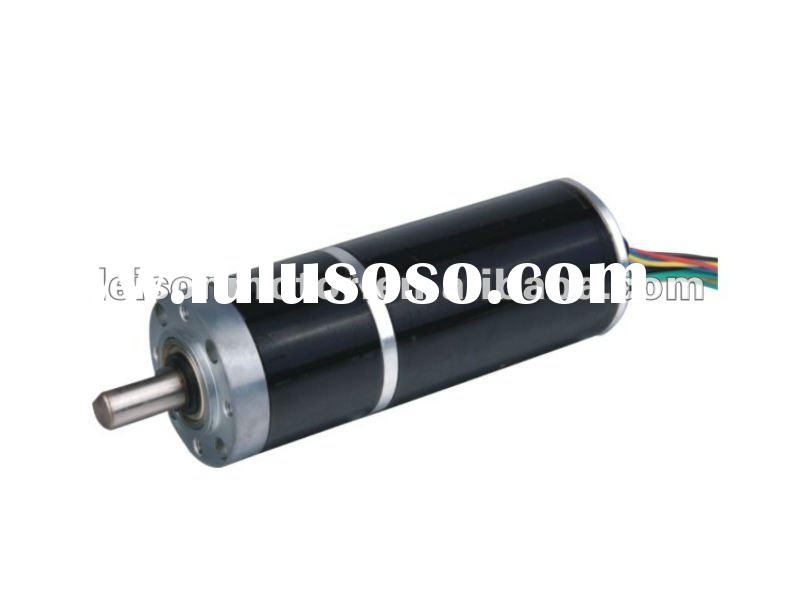 12v and 24v high torque brushless dc planetary geared motor