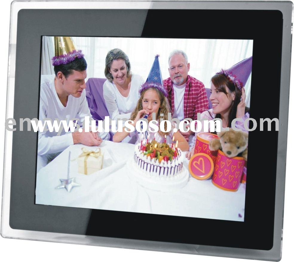 15 inch digital photo frame, LCD display, AD player, photo viewer