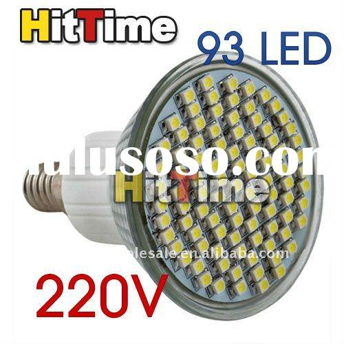 1Pcs E14/E27/GU10 93 SMD 1210 LED 6W Spot Light Lamp Bulb White 220V Free AIR Mail ONLY
