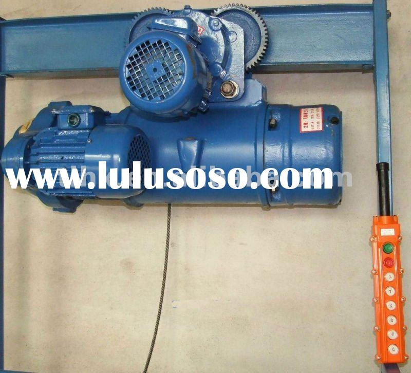 1T MD1 wire rope electric hoist,double motors