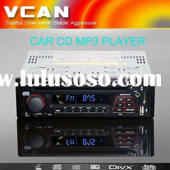 1 DIN Car CD player with MP3,USB,SD, RDS,Bluetooth