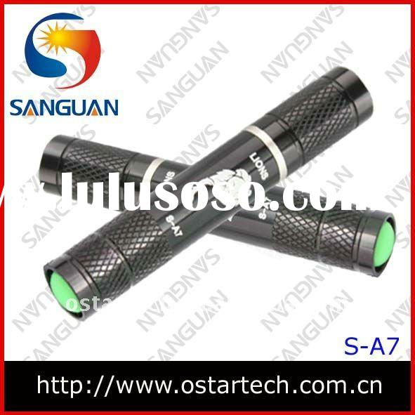 200lm CREE XP-E Q4 LED AA or 10440 chargeable Battery Torch Flashlight
