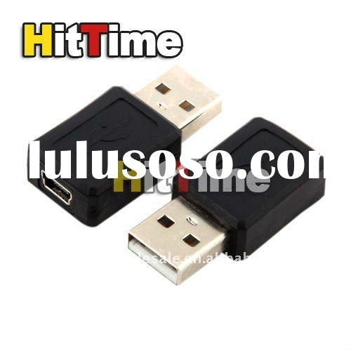 200pcs/lot Mini USB 5 Pin Female to USB Male Adapter Converter for MP3 EMS Free shipping