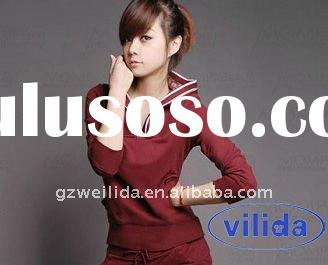2011 Autumn Fashion Long Sleeve Sport T-shirt with Hat