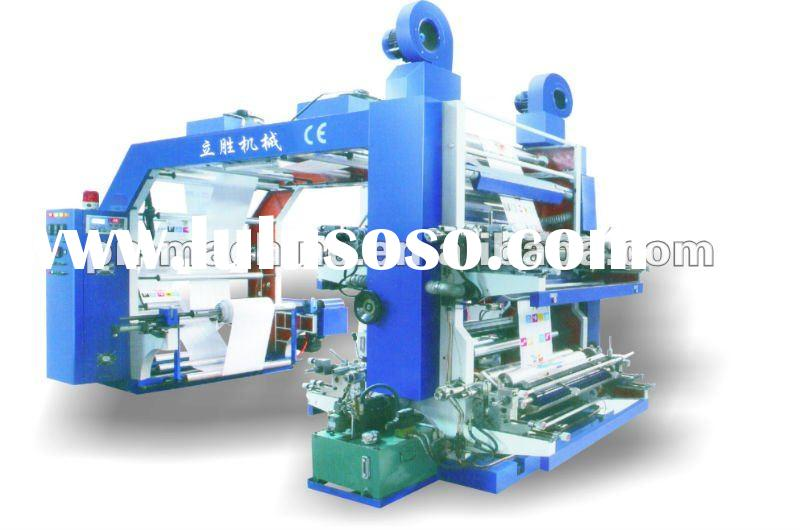 2011 New Flexo Printing Machine Six Colour Flexographic Printing Machine for paper cup