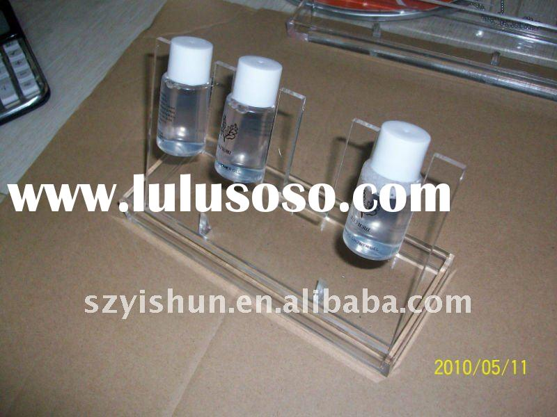 2011 best popular Acrylic Bathroom Accessories display stand