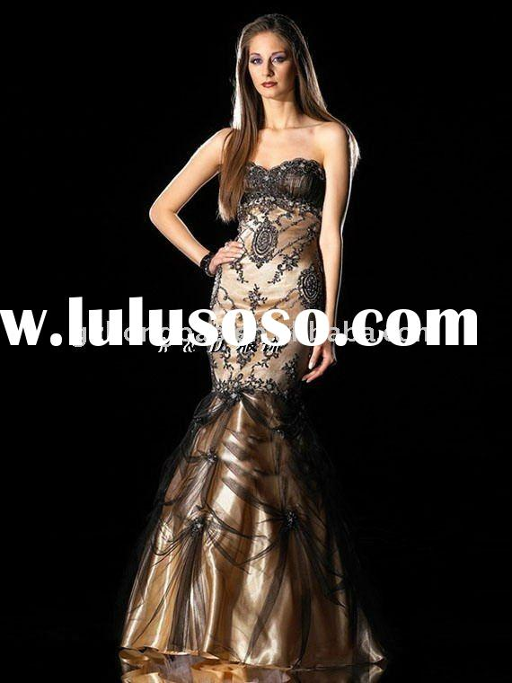 2011 export fashion evening dress,dance dress, couture in Guangzhou star dresses, nice evening dress