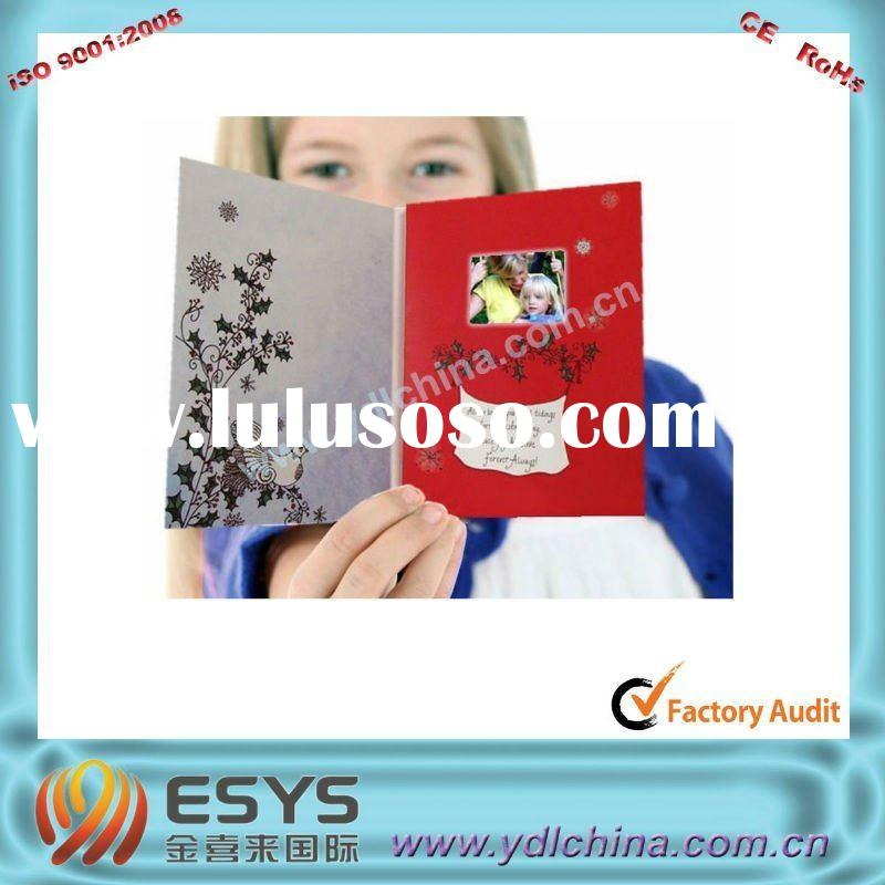 2011 handmade christmas cards with voice module/ sound greeting module