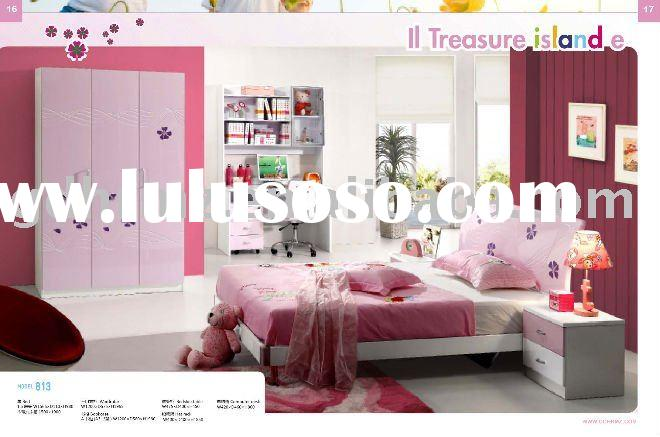 2011 kids bedroom set with Nice purple color