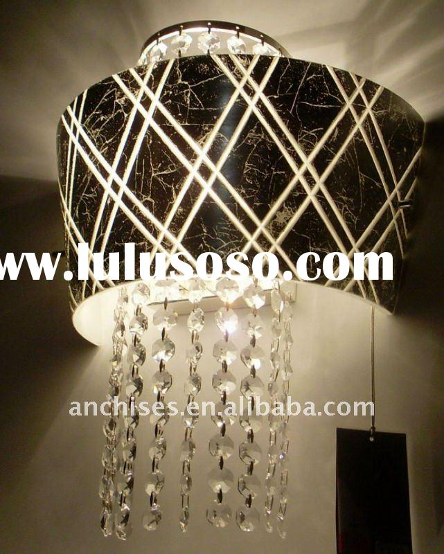 2011 modern bedroom decoration crystal wall light