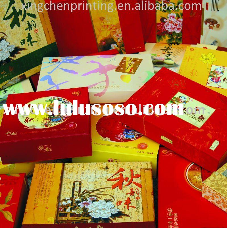 2011 new food paper packaging box printing