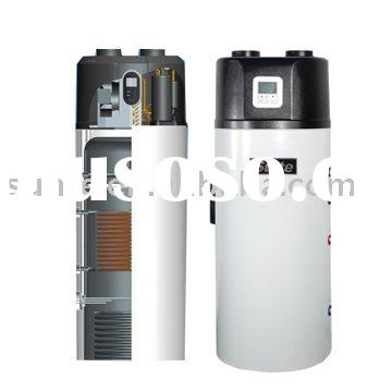 2011 new hot water heat pump connect with solar