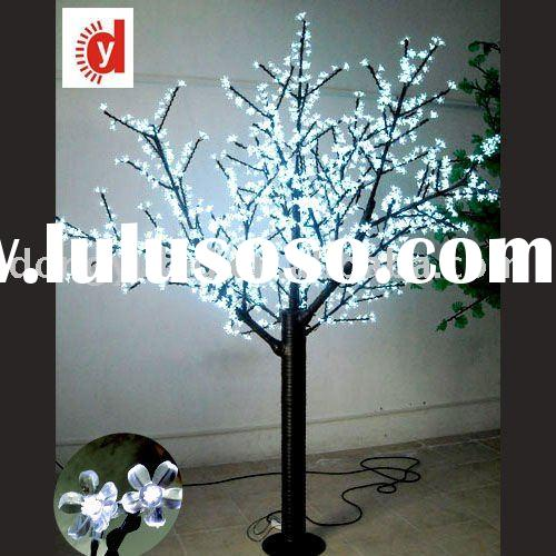 2011 new led christmas tree light color with white