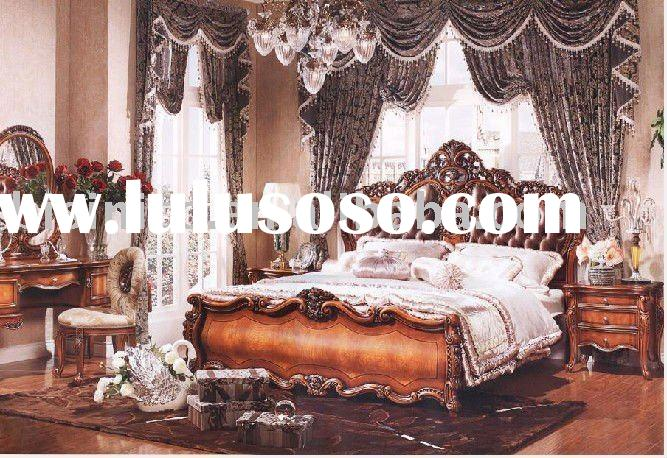 2011 new style antique bedroom furniture | new style sleeping room furniture set B49064