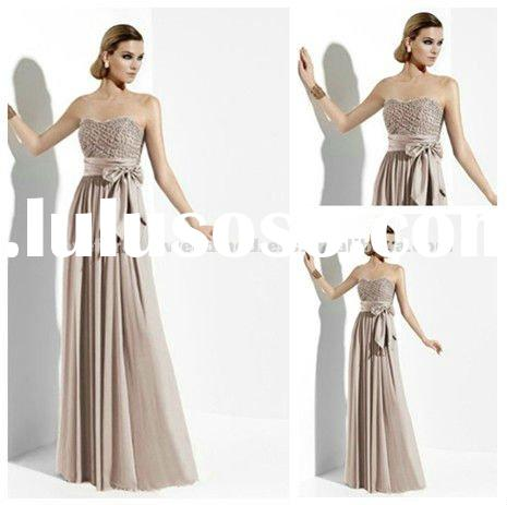 2012 New Arrival Chiffon Cheap Evening Dresses Gowns