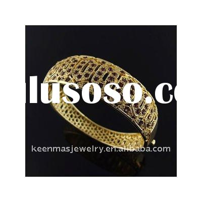 2012 golden jewelry, fashion alloy bangle