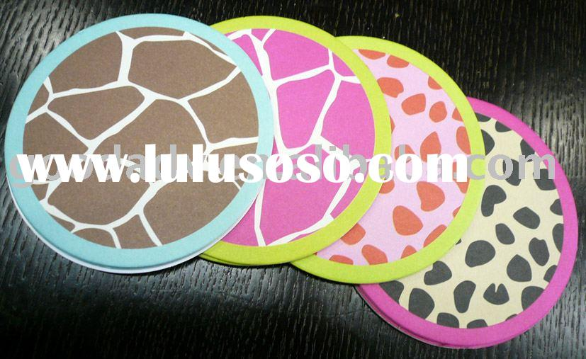 2012 high quality with low price absorbent coaster
