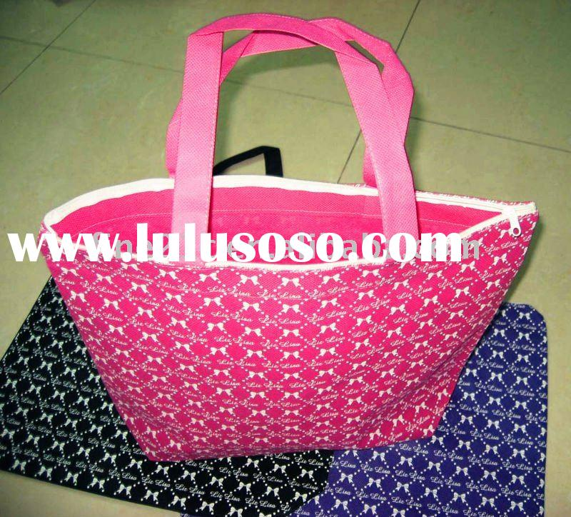 2012 latest style colorful bags handbags fashion with environment-friendly
