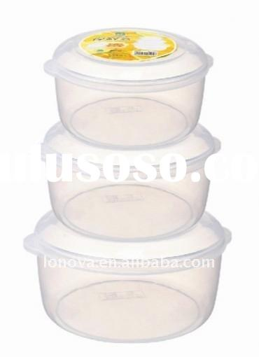 2012 new design vacuum food storage containers