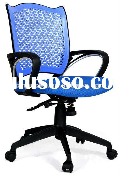 2012 new products top sale office mesh and plastic chair#C10