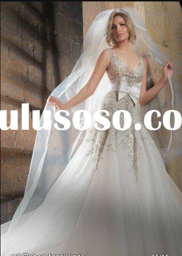 2012 the most popular rhinestone lebanon designer wedding dresses NSW1394