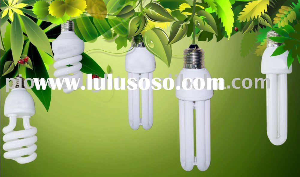 2U/3U/4U/half spiral/full spiral energy saving lamp